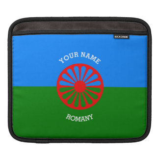 Personalized Official Romany gypsy travellers flag Sleeve For iPads