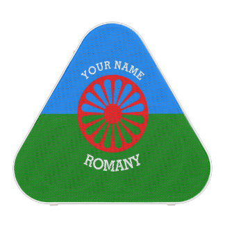 Personalized Official Romany gypsy travellers flag Speaker