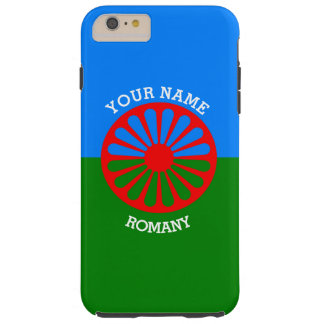Personalized Official Romany gypsy travellers flag Tough iPhone 6 Plus Case