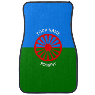 Personalized Official Romany gypsy travellers flag Car Mat