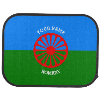 Personalized Official Romany gypsy travellers flag Floor Mat