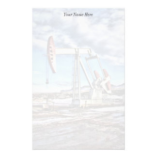 Personalized Oil Well Stationery