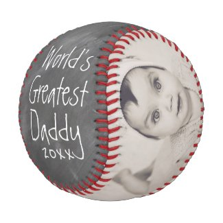Personalized One Of A Kind Custom Made Fathers Day Baseball