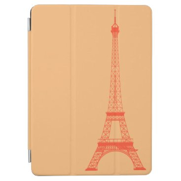 McTiffany Tiffany Aqua Personalized Orange Eiffel Tower iPad Air Cover