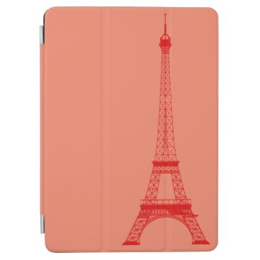McTiffany Tiffany Aqua Personalized Orange Red Eiffel Tower iPad Air Cover