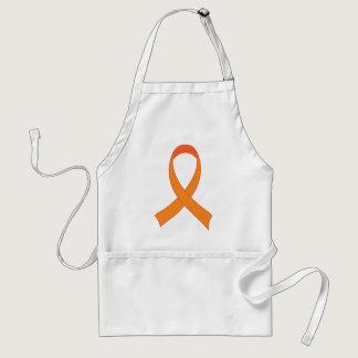 Personalized Orange Ribbon Awareness Gift Adult Apron