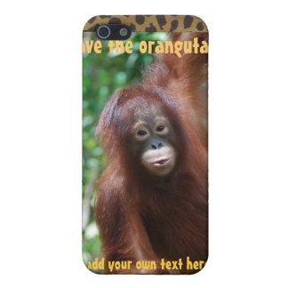 Personalized Orangutan  Conservation iPhone SE/5/5s Case
