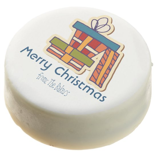 Personalized Oreos- Christmas Packages- Chocolate Dipped Oreo