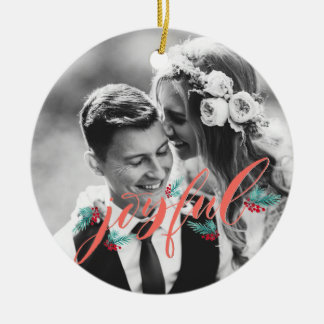 Personalized Ornament for Newlyweds
