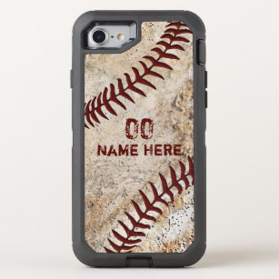 sneakers for cheap 5313f b50c5 Personalized OtterBox Vintage Baseball Phone Cases