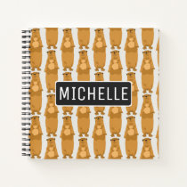 Personalized Otters Notebook