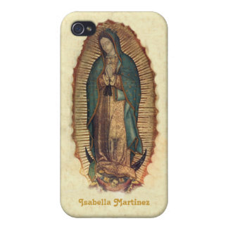 Personalized Our Lady of Guadalupe iPhone 4 Cases