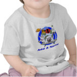 Personalized Outer Space 1st Birthday Tshirt