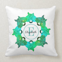 Personalized Ovarian Cancer Awareness Pillow