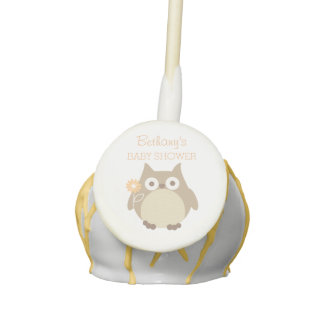 Personalized Owl Gender Neutral Baby Shower Favors