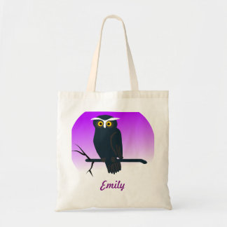 Personalized Owl kids Tote Bag