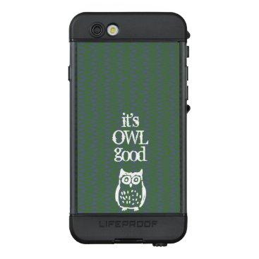 Personalized Owl LifeProof NÜÜD iPhone 6s Case
