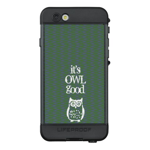 Personalized Owl LifeProof NÜÜD iPhone 6s Case