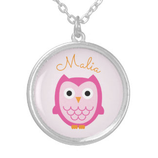 Personalized Owl Necklace