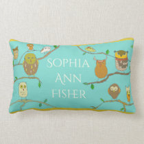 Personalized Owl Pillow