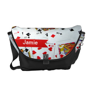Personalized Pack of Playing Cards bag Courier Bag