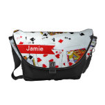 Personalized Pack of Playing Cards bag Courier Bags