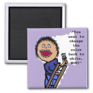 Personalized Painter Magnet