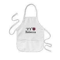 Personalized painting aprons for kids