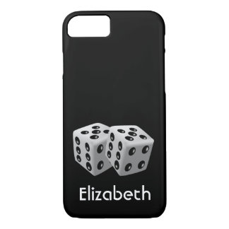 Personalized Pair of Dice iPhone 7 Case