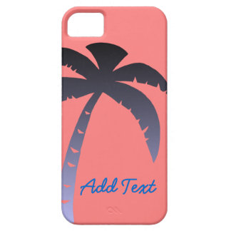 Personalized Palm Tree iPhone SE/5/5s Case