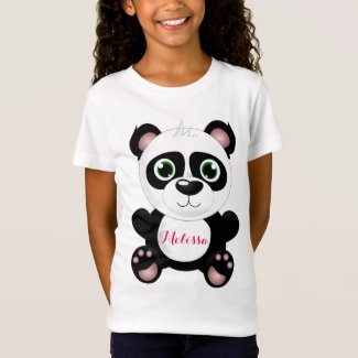 Personalized Panda T-Shirt