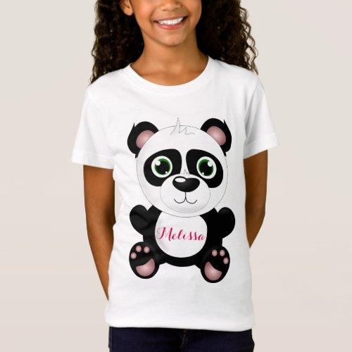 Personalized Panda T_Shirt