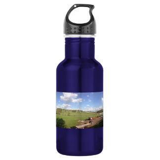 Personalized Panoramic Photo Aluminum Stainless Steel Water Bottle