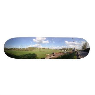 Personalized Panoramic Photo Skateboard Designs