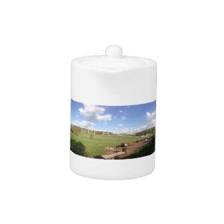 Personalized Panoramic Photo Teapot at Zazzle
