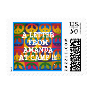 PERSONALIZED PEACE CAMP STAMP