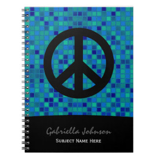 Personalized: Peace Sign Notebook