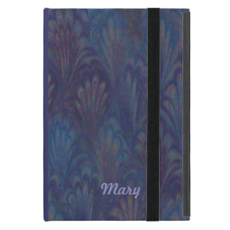 Personalized Peacock Feather iPad Mini Case