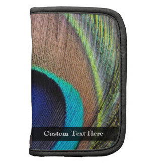 Personalized Peacock Feather Organizers