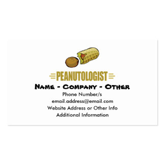 Personalized Peanut Double-Sided Standard Business Cards (Pack Of 100)