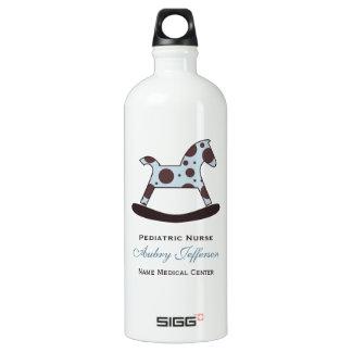 Personalized: Pediatric Nurse Aluminum Water Bottle