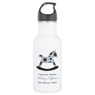 Personalized: Pediatric Nurse Stainless Steel Water Bottle