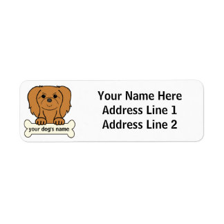 Personalized Pekingese Label