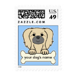 Personalized Pekingese Stamps