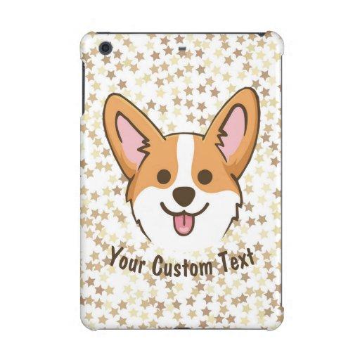 Personalized Pembroke Welsh Corgi Puppy Dog Stars iPad Mini Case