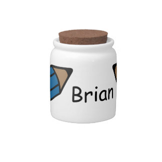 Personalized ~ Pencil Holder Candy Jars