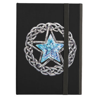 Personalized Pentacle Crystal Star iPad Case
