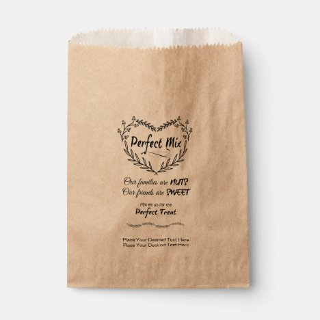 Personalized Perfect Mix Wedding Favor Bags