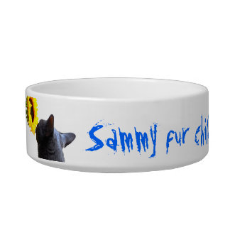 Personalized Pet Bowl Name & Photo