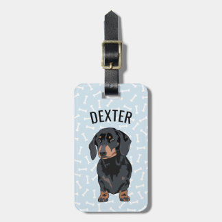Personalized Pet Dachshund | Funny Pet Bag Tag